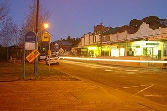 Bundanoon, New South Wales - Bundanoon Town Centre at dusk