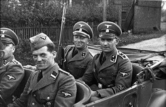 Sicherheitsdienst - SD personnel in Poland