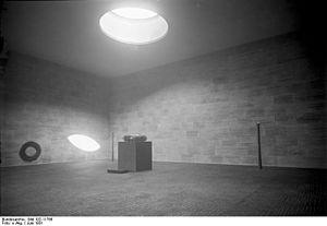 Neue Wache - Interior, design by Heinrich Tessenow, 1931