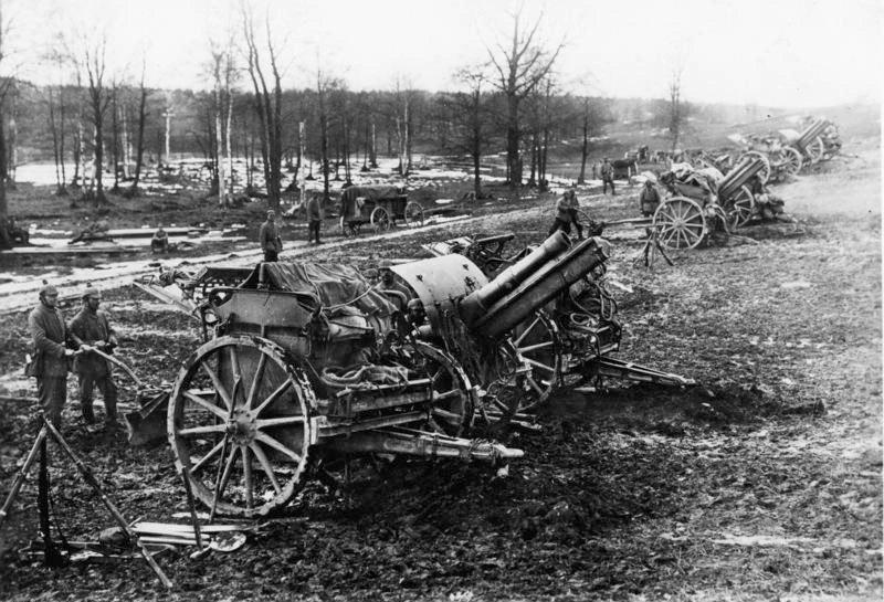 Bundesarchiv Bild 183-S36048, Frankreich, Arras, Artillerie