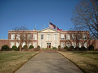 Reinhardt university wikipedia for Burgess builders