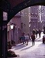 Burghausen-12-Torblick zur Strasse an der Salzach-1987-gje.jpg