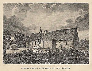 Burns Cottage - Image: Burns Cottage Oldest Known Engraving