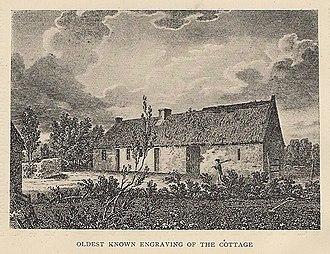 Burns Cottage - Image: Burns Cottage Oldest Known Engraving