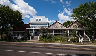 Burton, Texas - Downtown Burton