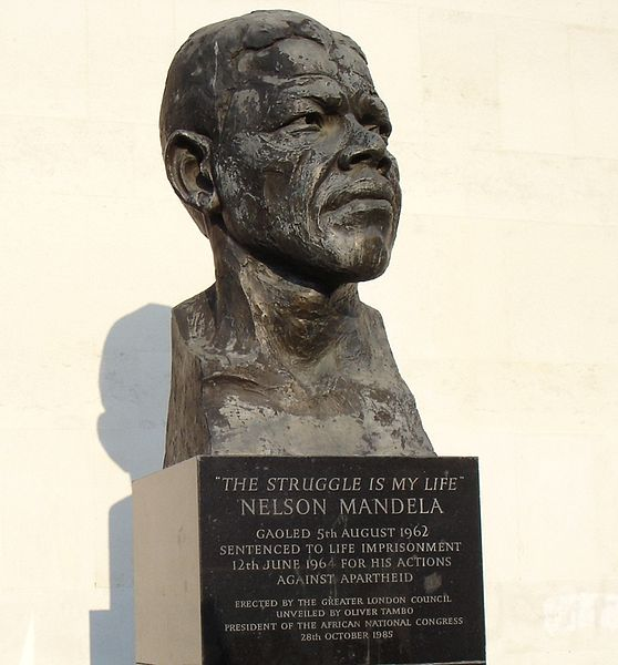 File:Bust Of Nelson Mandela-Royal Festival Hall-London.JPG