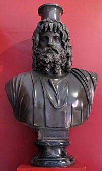 Busto del dio serapide, II sec.JPG