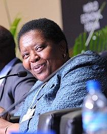 Buyelwa Patience Sonjica - World Economic Forum on Africa 2010.jpg