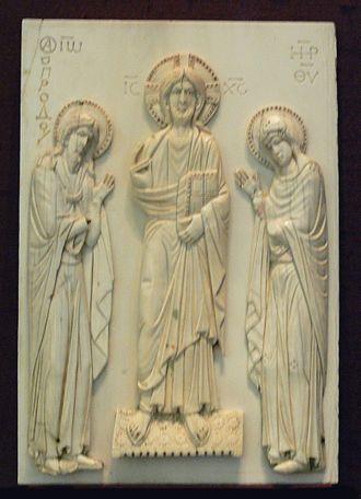 Bavarian National Museum - Byzantine ivory