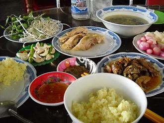Tam Kỳ - Image: Cơm gà Tam Kỳ, Quảng Nam