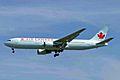 C-GHPF B767-3Y0ER Air Canada(new cs) YVR 26AUG05 (6714589857).jpg