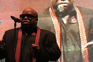 CeeLo Green discography - CeeLo Green performing at the SoCo Music Festival in July 2010