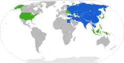 Member states Observer states