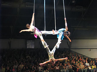 Trapeze - Triple trapeze