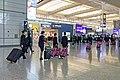 CR Shanghai train crew at AOH departure hall (20191116101321).jpg