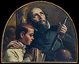 Ca' Rezzonico - Cappella di Zianigo - San Girolamo Miani - Giandomenico Tiepolo.jpg
