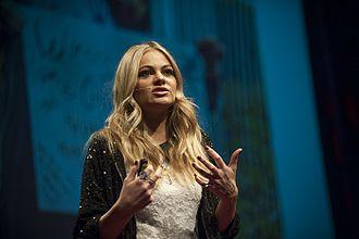 Caitlin Crosby - Caitlyn Crosby speaks at TEDx Bend in 2013