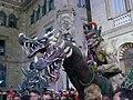 Caixa de Barcelona - els dracs davant de sant Jaume.jpg