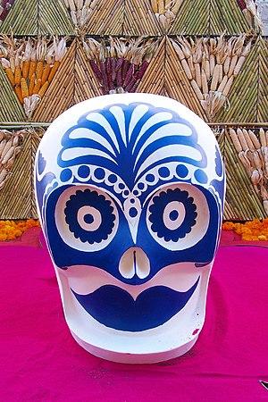 Calavera festiva / Festive Skull (altura/heigh...