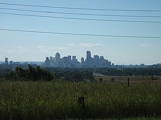 Southview, Calgary - Downtown Calgary as seen from Southview