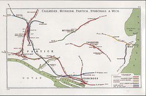Wick and Lybster Light Railway - Image: Callander, Muirkirk, Partick, Stobcross & Wick RJD 114