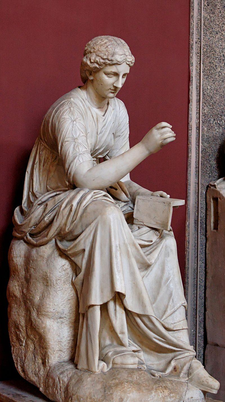 CALLIOPE Kalliope  Greek Goddess Muse of Epic Poetry
