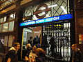 Camden Town tube station during Boxing Day 2011 tube strike.JPG