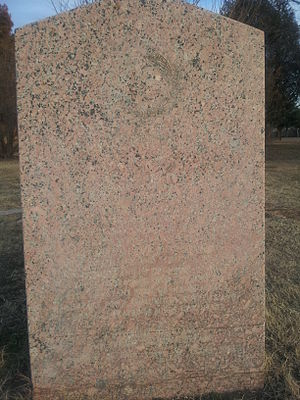 Coleman, Texas - Image: Camp Colorado CSA marker