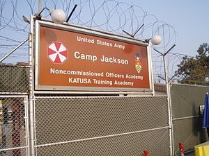 Korean Augmentation To the United States Army - KATUSA Training Academy, Camp Jackson, South Korea