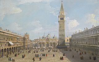 Venice: Piazza San Marco looking East towards the Basilica