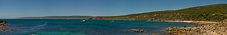 Leeuwin-Naturaliste National Park - Panorama from Canal rocks look towards Yallingup