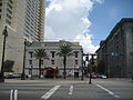 Canal St NOLA CBD Sept 2009 Oldest Building.JPG