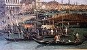 Canaletto, il molo verso la riva degli schiavoni con la colonna di san marco, ante 1742, 04.JPG