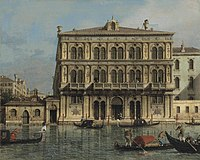 Canaletto- Palazzo Vendramin-Calergi, on the Grand Canal, Venice.jpg