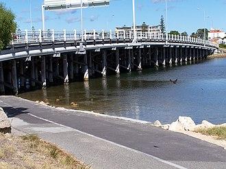 Canning Highway - Canning Bridge