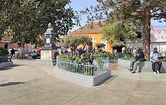 Santa Catarina, Cape Verde - Image: Cape Verde Assomada square