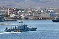 Cape Verde Coast Guard patrol vessel Badejo (P263) in the bay of Mindelo on 9 August 2019 190809-N-UN744-0083.jpg