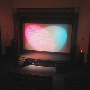 Capitol Theater (Olympia) - The stage and screen at Capitol Theater, Olympia, Washington