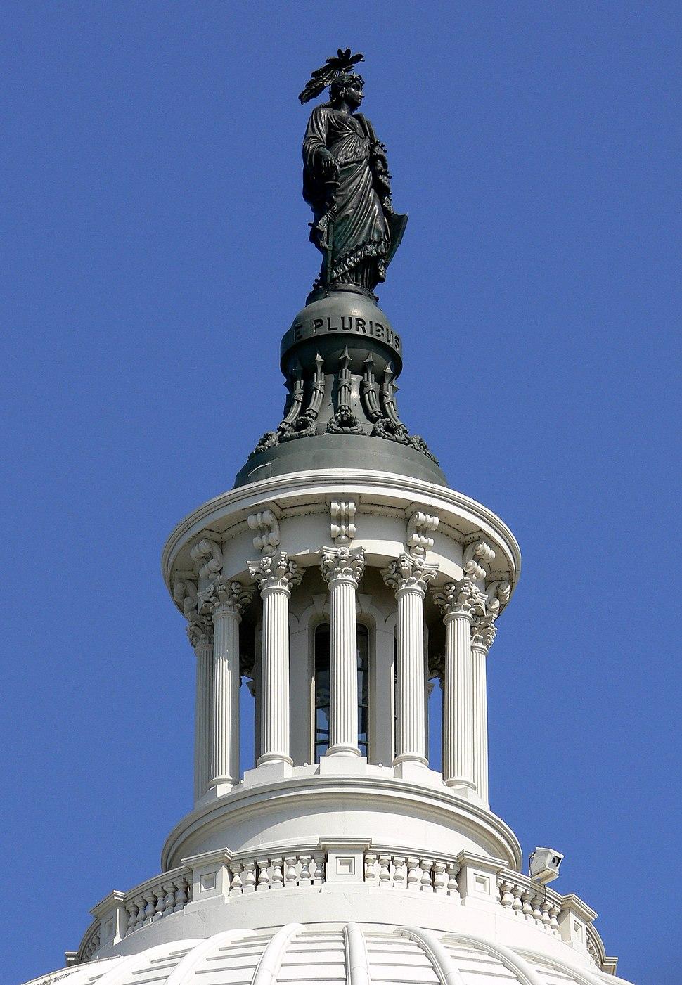 Capitol dome lantern Washington