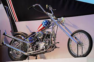 Clifford Vaughs - The Captain America bike