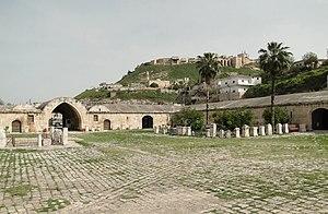 Qalaat al-Madiq - View of the Ottoman caravansary (khan) at Qalaat al-Madiq, 2010