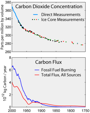 Carbon History and Flux