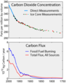 Carbon History and Flux.png
