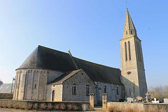 Carcagny - The church in Carcagny