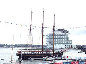 Kathleen and May - Image: Cardiff Bay Schooner geograph.org.uk 804439