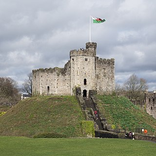 Grade I listed castle in Cardiff, Wales