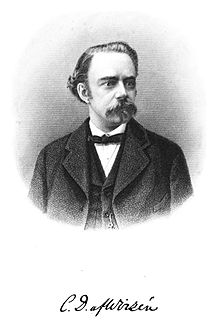 Carl David af Wirsén poet, literary critic and the Swedish Academys permanent secretary from 1884-1912