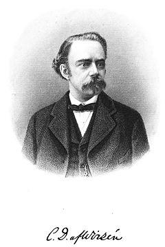 Carl David af Wirsén med signatur
