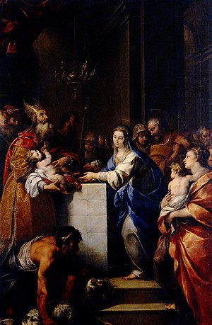 Carlo Francesco Nuvolone - The purification of the Virgin