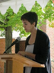 Carmen Giménez Smith at 2012 Fall for the Book